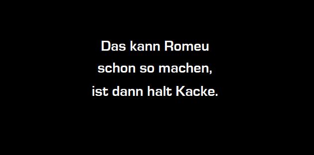 Romeu Fataler Fehler VfB