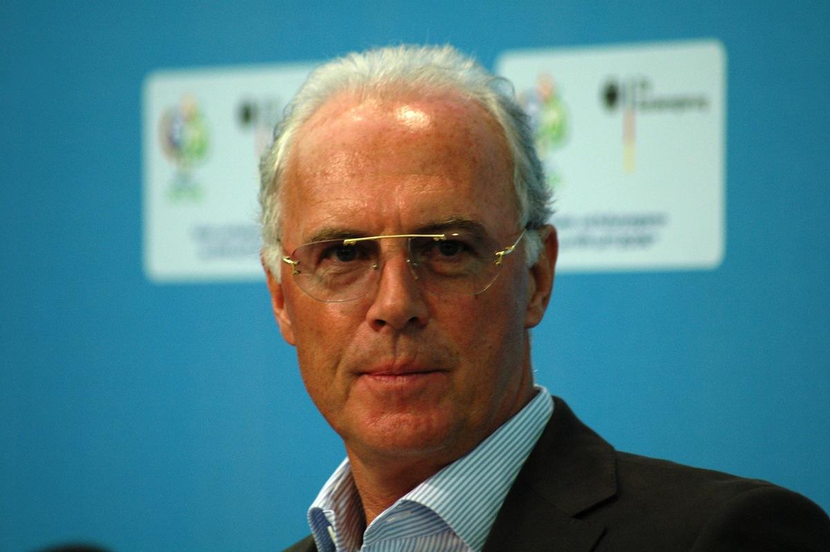 Teamchef Beckenbauer