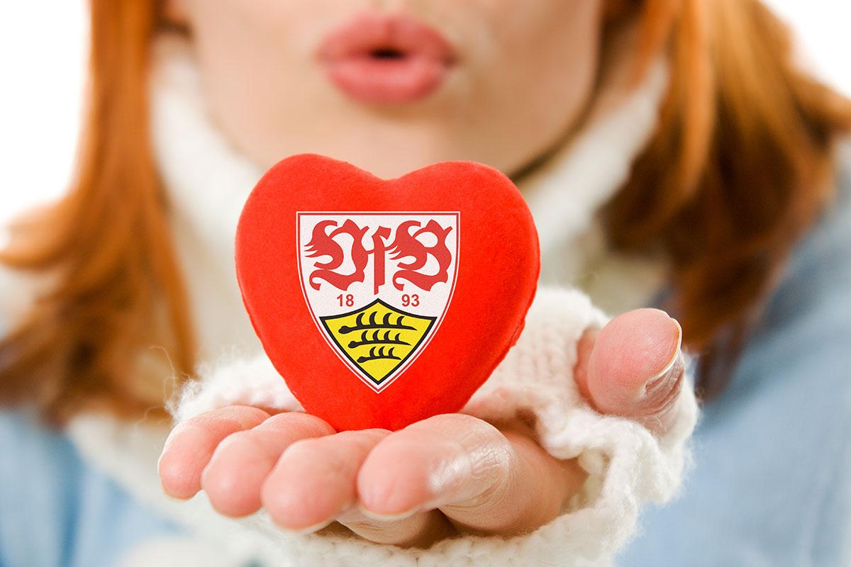 VfB mit Herz