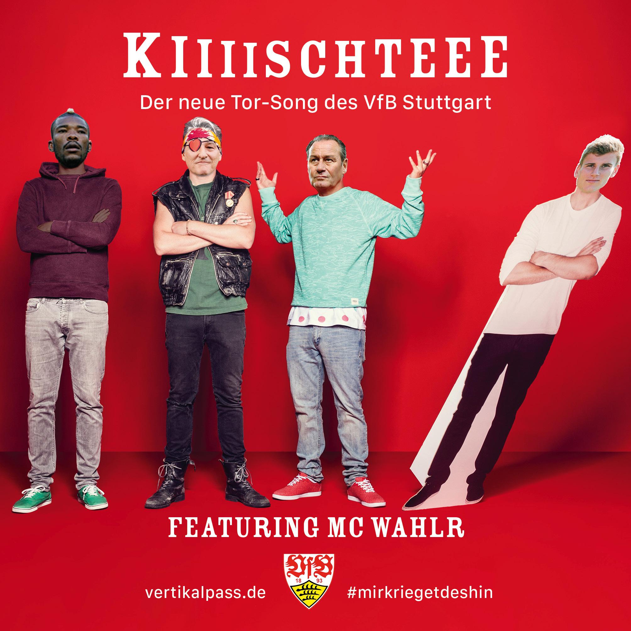 """Das Cover von """"Kiiiiiiiiischteee"""" featuring MC Wahlr, inspiriert von den Orsons (Chimperator), erhältlich nur als Vinyl."""