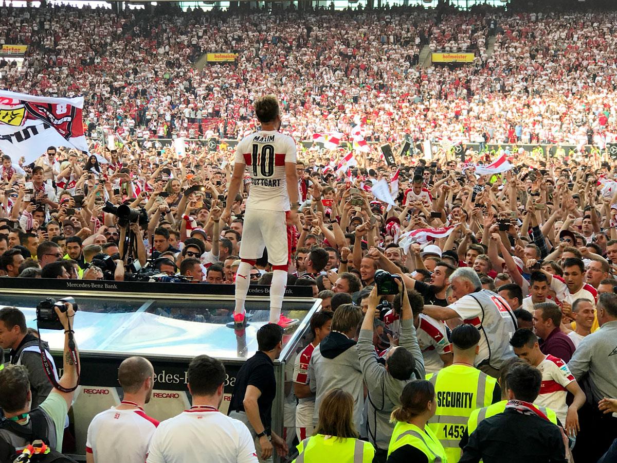 VfB Stuttgart Aufstieg 2017 Maxim